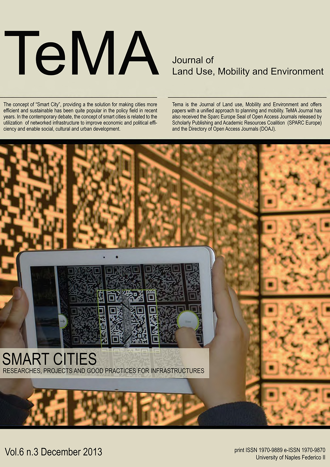 24_Vol 6 N° 3 (2013) Smart Cities Research, Projects and Good Practices for Infrastructures